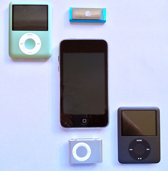 Gently-used iPods